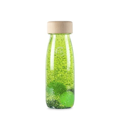 Botella sensorial Float Green